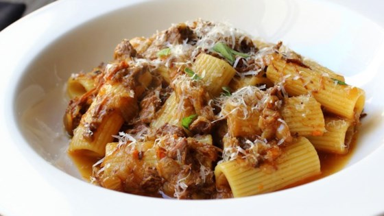 Photo of Rigatoni alla Genovese by Chef John