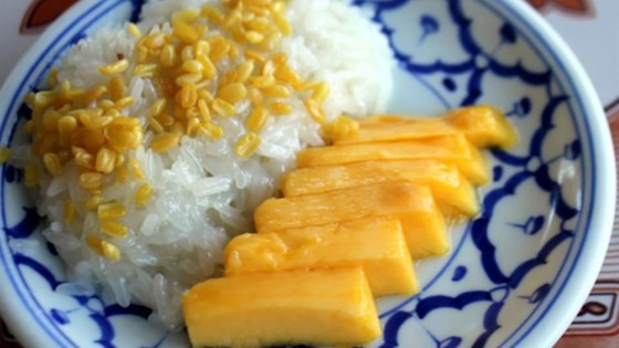 Photo of Refined Sugar Free-Mango Sticky Rice by Little Bites of Beauty