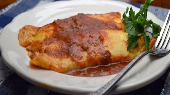 Photo of Homemade Baked Manicotti by Mangialicious