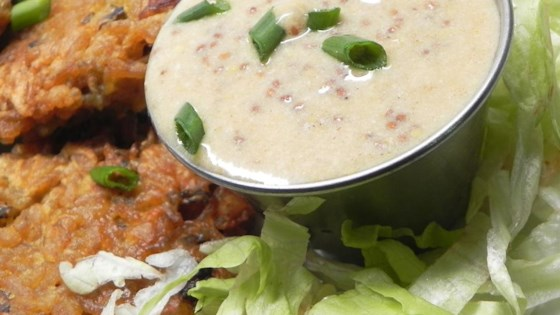 Photo of Mustard-Cream Pan Sauce by USA WEEKEND columnist Pam Anderson