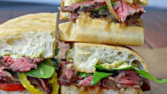 Photo of Rustic Rib-Eye on Ciabatta by Culinary Envy