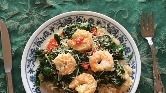 Photo of Shrimp, Leek and Spinach Risotto by MRSPETEL