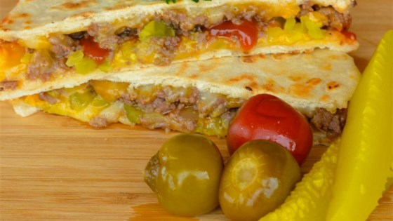 Photo of Cheeseburger Quesadilla by Calamity