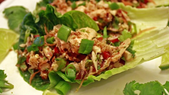 Photo of Thai Spicy Tuna Lettuce Wraps by Bumble Bee