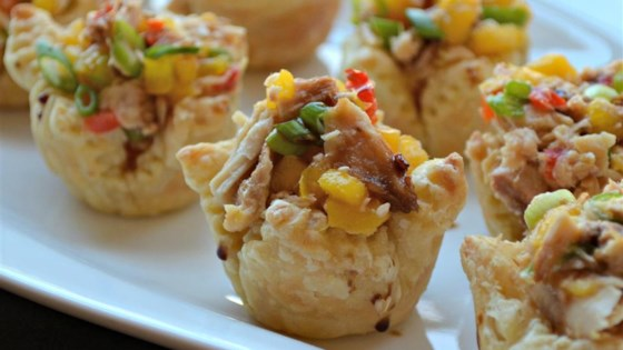 Photo of Sweet and Spicy Tuna Cups by Kim's Cooking Now!