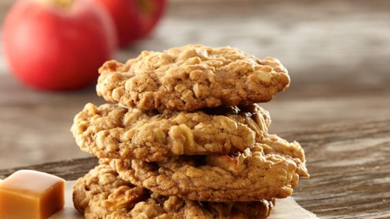 Photo of Caramel Apple Oatmeal Cookies by Land O'Lakes