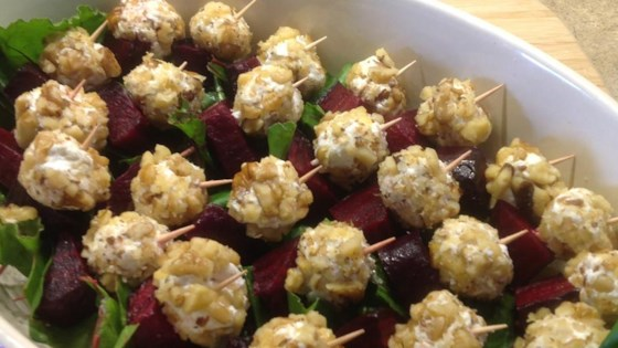 Photo of Beet Salad on a Stick by Lindsey