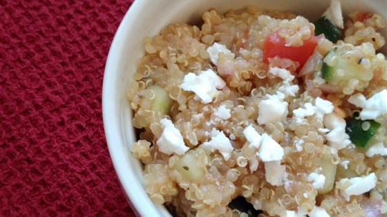 Photo of Italian Quinoa Salad by Annita