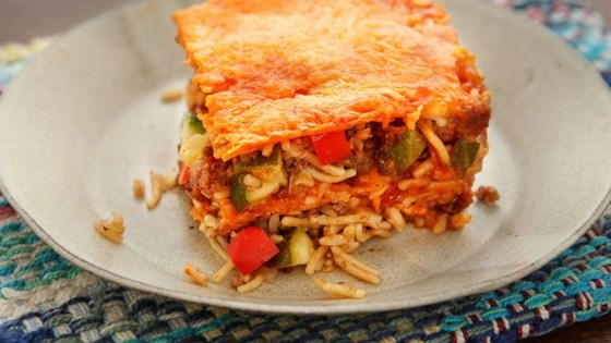 Photo of Beef and Cheese Enchilada Casserole by Knorr