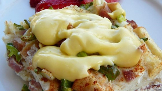 Photo of Quick and Easy Hollandaise Sauce in the Microwave by scottki