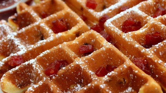 Photo of Candied SPAM® Waffles by SPAM®
