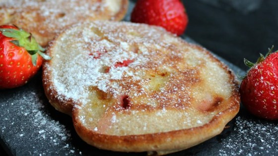 Photo of Strawberry-Banana Fritters  by gina