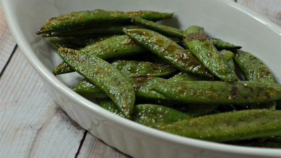 Photo of Cinnamon Sugar Snap Peas by eandjanda
