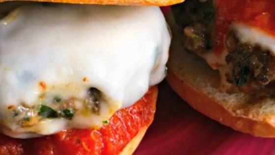 Spicy Italian Sausage Blended Burger
