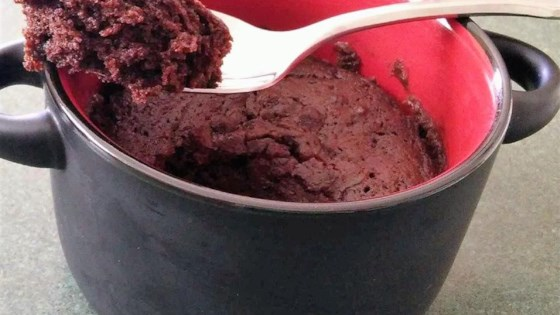 Individual Microwave Brownie Recipe