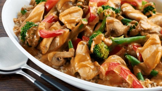 Photo of Creamy Peanut Stir-Fried Chicken by Kraft Peanut Butter