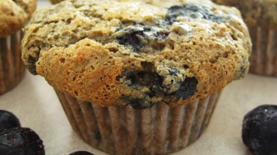 Photo of Health Nut Blueberry Muffins by ZOPOOH