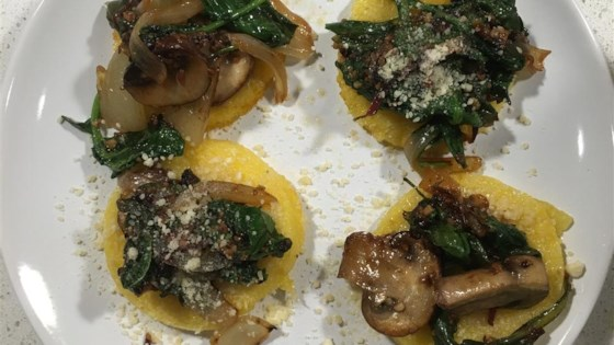 Photo of Paula's Polenta with Mushroom Topping by PAULA SELLERS