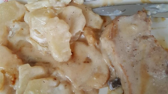 Photo of Stovetop Pork Chops and Potatoes by CANELSON