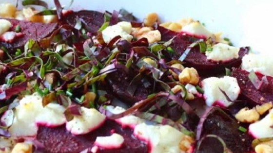 Photo of Roasted Beets with Goat Cheese and Walnuts by Chef John