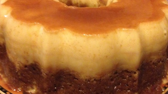 Photo of Banana Flan Cake by sparklyspatula