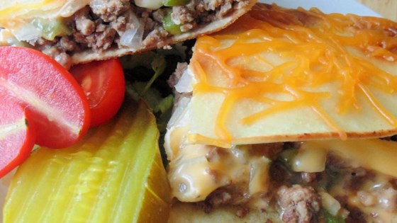 Photo of Cheeseburger Quesadillas by HOLLY9000