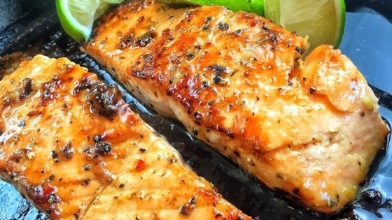 Photo of Cedar Plank-Grilled Salmon  by Greubel Rosie