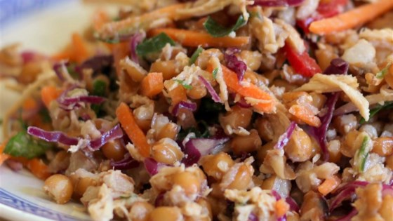 Photo of Spicy Chicken and Spelt Salad by Always Cooking Up Something
