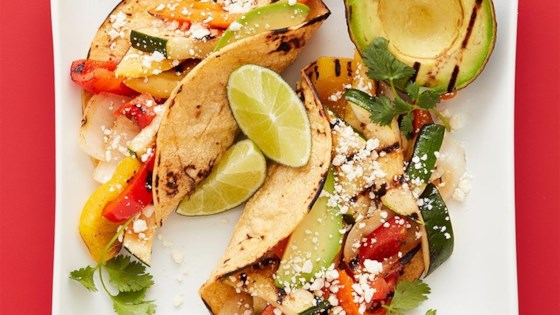 Photo of Grilled Avocado and Veggie Tacos by Target Test Kitchen