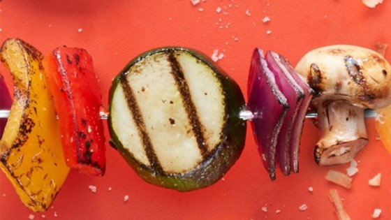 Photo of Lemony Grilled Vegetable Kabobs by Target Test Kitchen