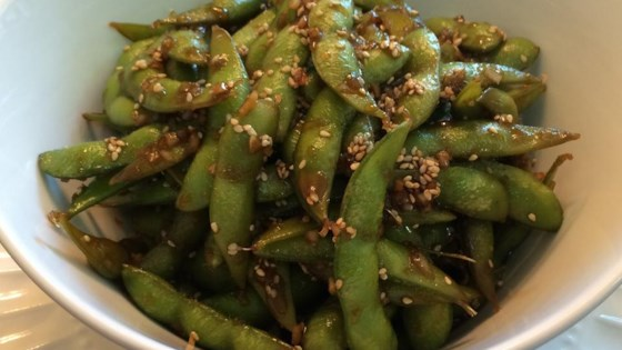 Photo of Garlic Teriyaki Edamame by CRAZY4SUSHI
