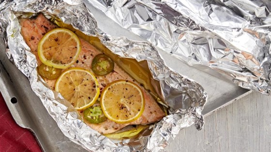 Photo of Fish in Foil by Denyse