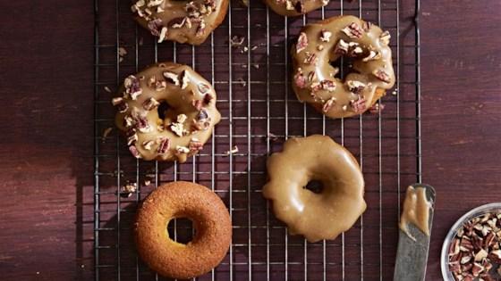 Photo of Baked Buttermilk Pumpkin Doughnuts by Anita Van Gundy