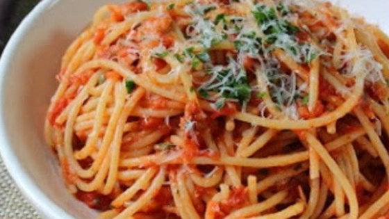 Chef John S Spaghetti Al Tonno Recipe Allrecipes Com