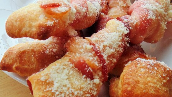 Photo of Bacon-Wrapped Breadsticks by lgmarge