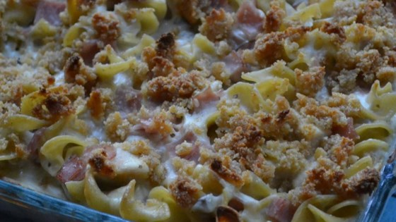 Creamy chicken cordon bleu casserole recipe allrecipes photo of creamy chicken cordon bleu casserole by felicia forumfinder Gallery