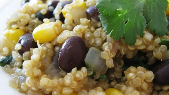 Photo of Quinoa and Black Beans by 3LIONCUBS