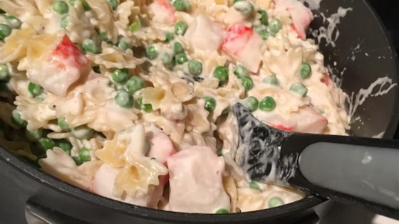 Photo of Creamy Crabby Pasta by BENMORMOMMY