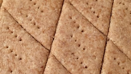 Photo of Low-Carb Almond Garlic Crackers by Victoria S