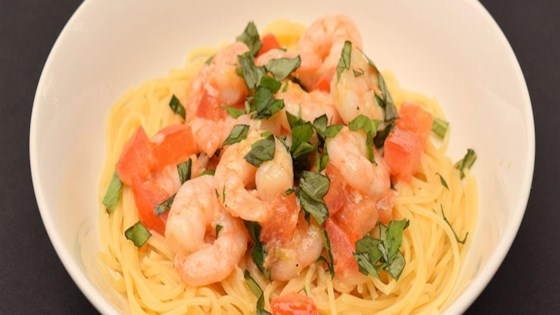 Photo of Tomato & Basil Shrimp in Garlic Butter Sauce by Land O'Lakes