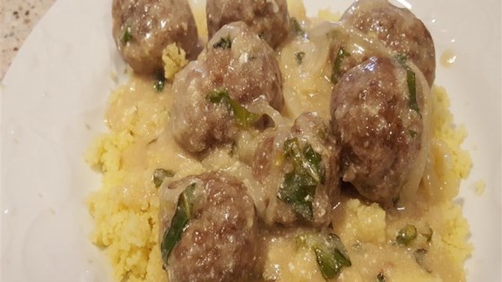 Mediterranean Meatballs with Couscous