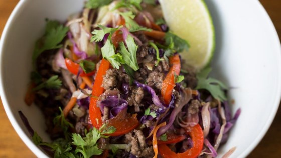 Photo of Addictive Asian Beef Slaw (Crack Slaw) by Stasty Cook