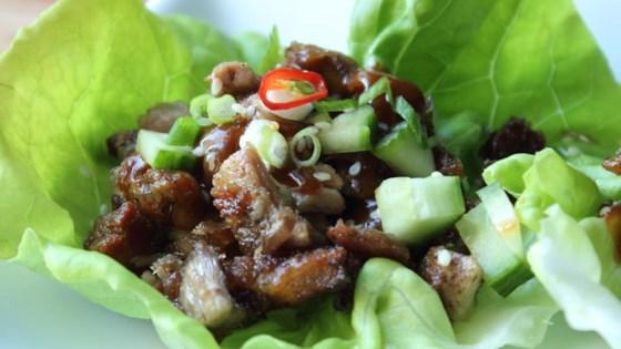 "Photo of Easy ""Peking Duck"" Lettuce Cups by Chef John"