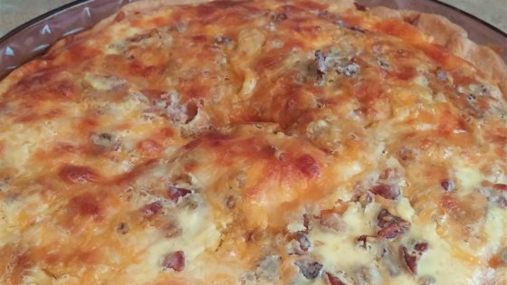 Photo of Bacon and Swiss Quiche by Erin