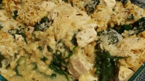 Photo of Chicken-Spinach Casserole by Tyson Chicken