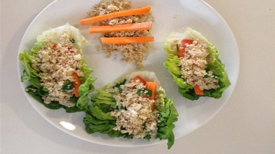 Photo of Vegetarian Millet Lettuce Wraps by Evie McGonigle
