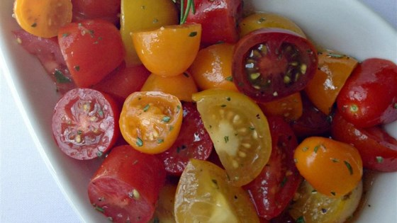 Photo of Heirloom Tomato Salad with Rosemary by aimeej.B
