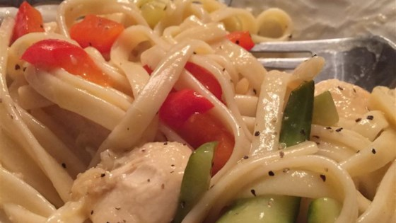 Photo of Lemon Pepper Pasta with Chicken and Vegetables by Chris I.