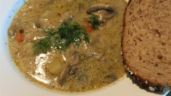 Photo of Russian Mushroom and Potato Soup by DTERESA