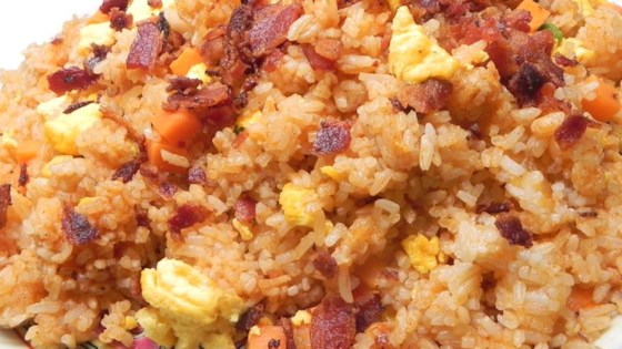 Photo of Fried Rice with Bacon and Sriracha by www.sexyql.website